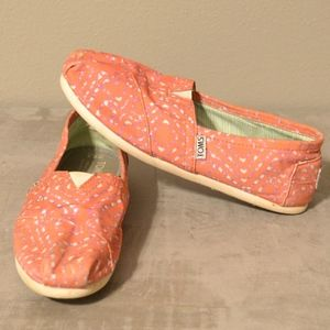 Toms Tie-Dyed Geometric Womens size 6.5